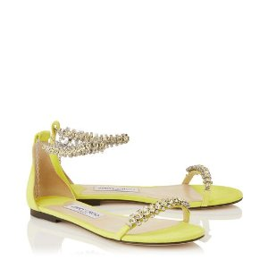 SHILOH 钻饰平底凉鞋