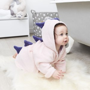 My 1st Years20% Off for $100+Personalized Pink Dinosaur Robe