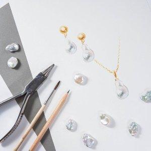 一律7.5折 珍珠耳饰£45起即将截止:Olivia & Pearl 绝美珍珠首饰全场大促