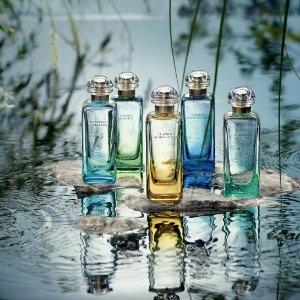 $106.11(原价$125)Hermes 爱马仕 印度花园中性淡香水100ml 雨后香气