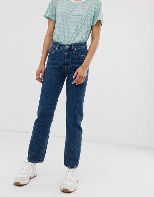 Imko直筒牛仔裤