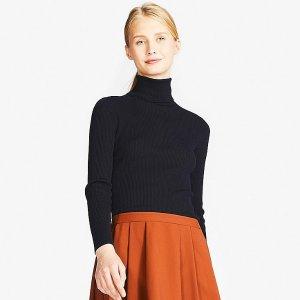 f93a4752c882 Extra Fine Merino Turtleneck Sweaters On Sale   Uniqlo  19.9 - Dealmoon