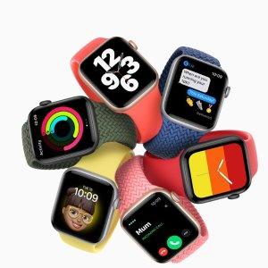 SE £269起全新 Apple Watch Series 6 & SE 发布, £379起, 支持血氧检测