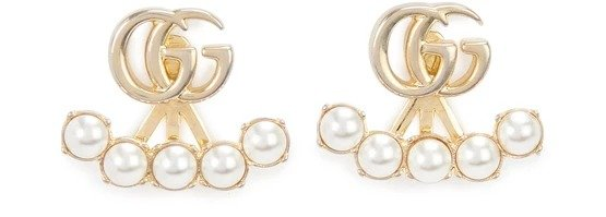 GG 珍珠耳环