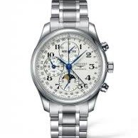 Extra $50 offLONGINES Master Collection Chronograph Silver Dial Stainless Steel Men's Watch L26734786