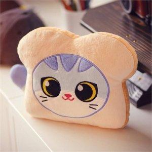 低至5折 超元气治愈超可爱治愈系玩偶热卖 $17.5收封面面包猫咪玩偶