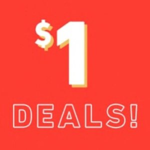 only $1DEALS @ Forever21.com