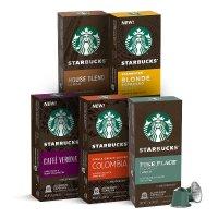 Starbucks Nespresso 咖啡胶囊 50颗 5种不同口味