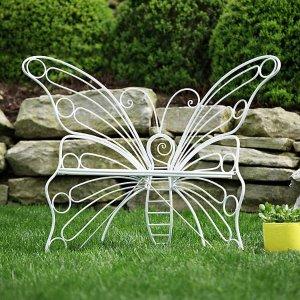 $44.1限今天:金属蝴蝶花园椅 多色可选