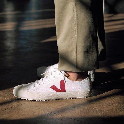 低至5.5折 €82收橘色小白鞋Veja 春夏新品闪促进行时 当季清新小众潮鞋你值得拥有