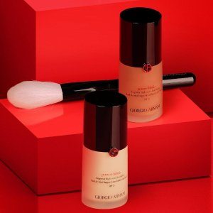 Extended: Dealmoon Exclusive! Enjoy 20% off sitewidewith any Make-up Foundation purchase + Free Gift when you spend $125+  @ Giorgio Armani Beauty