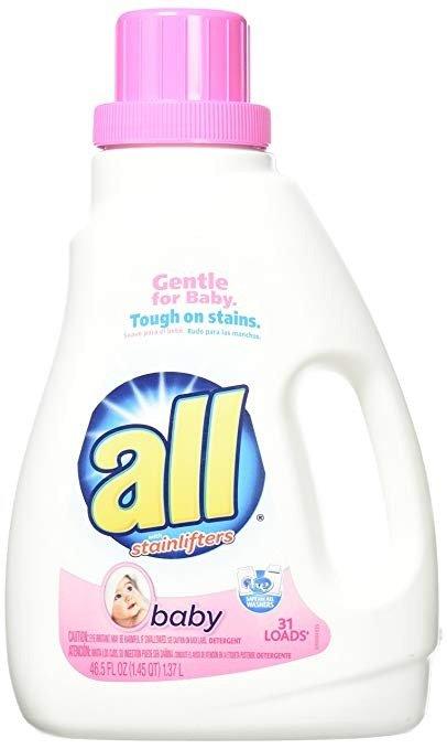 婴儿洗衣液, 46.5盎司, 31 Loads