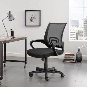 4.5折 $99.44(原价$219.99)史低价:WOLF WARRIORS 网眼靠背 人体工学游戏椅/办公椅