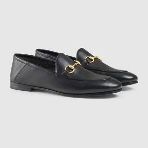 Leather Horsebit loafer - Gucci Moccasins & Loafers 414998DLC001000