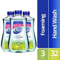 Dial 全效抗菌泡沫洗手液 大瓶补充装 32Oz  鲜梨香气 3瓶