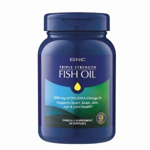 GNCTRIPLE STRENGTH FISH OIL 60 softgels