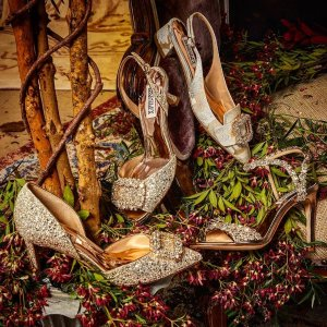 低至3折Badgley Mischka 精致美衣美鞋热卖  仙气高跟凉鞋$74