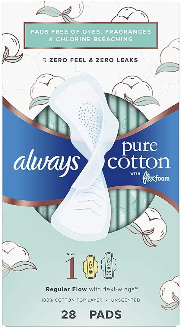 纯棉液体卫生巾 正常流量 Size 1 84片