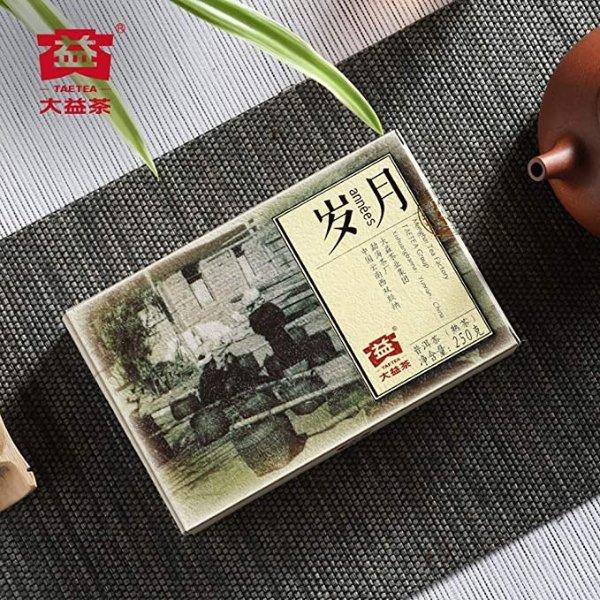 岁月普洱熟茶 250克