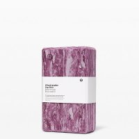 Lululemon 大理石纹紫色瑜伽枕