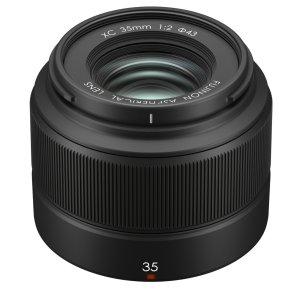 $199Fujifilm Fujinon XC 35mm f/2 Lens (Black)