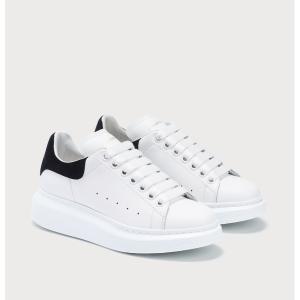 3折起 £280就收!折扣升级:Alexander Mcqueen 黑尾小白鞋、小黑鞋罕见折扣 断码超快!