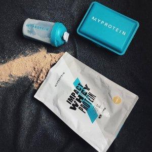 3包仅$30(原价$80.97)Myprotein Impact Whey 高效蛋白粉促销 2.2磅装 多口味可选