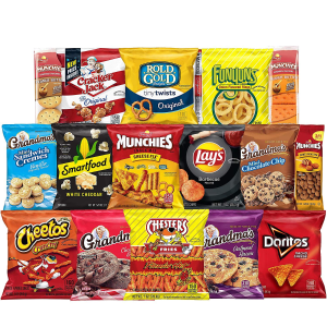 $15.37 + Free ShippingUltimate Snack Care Package, Variety of Snacks, 40 Count