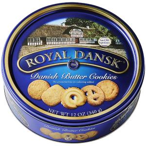 $3.68Royal Dansk 经典蓝罐黄油曲奇 12oz