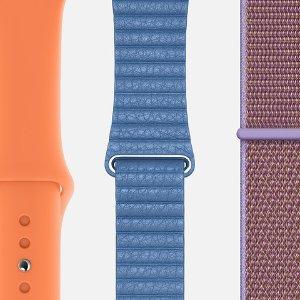 $49起 爱马仕新配色$339苹果官网 新款Apple Watch Series 4 表带配色已更新