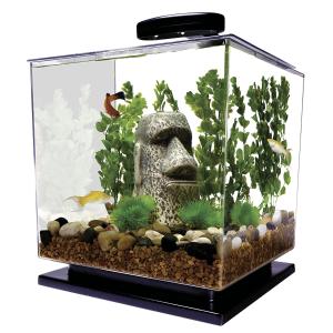$45.07 (原价$66)MarineLand Tetra Cube 3加仑 水族箱/鱼缸套装