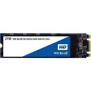 $219.99WD Blue 3D NAND M.2 2280 固态硬盘 2TB