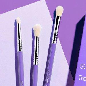 8.5折 + 满$50包邮Sigma 包邮门槛降低!收新款紫杆眼部刷、F80面部套装