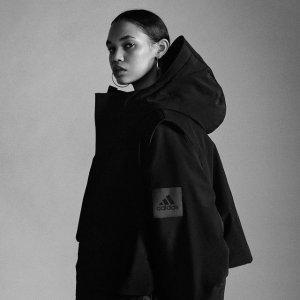 部分8折 极致未来感adidas X pharrell williams向黑色致敬 Triple Black经典潮服