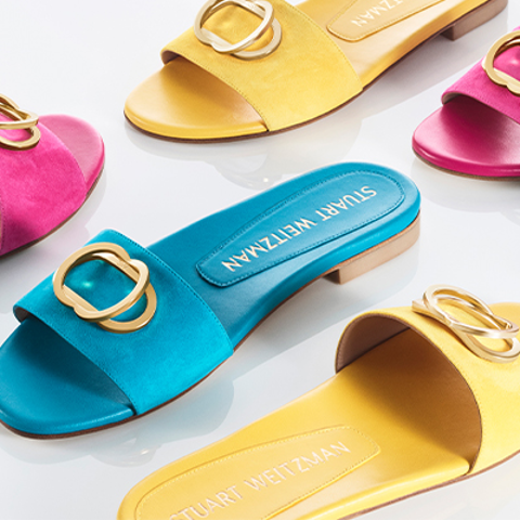 Extra 20% OFF + FSDealmoon Exclusive: The Stuart Weitzman Outlet up to 70% off+New sandals starting $99