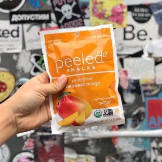 As low As $2.26Peeled Snacks Organic Dried Fruit, Mango, 2.8 Ounce