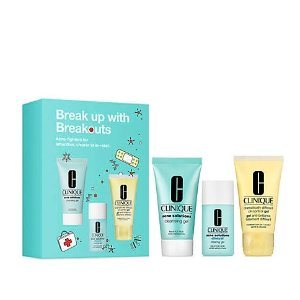 CliniqueBreak Up With Breakouts Skincare Set - $29 Value!