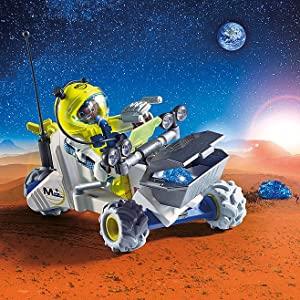$12.99(原价$18.18)Playmobil 摩比世界 火星探测器玩具套盒 一起去探险呀
