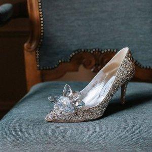 低至3折 €216收亮片平底鞋Jimmy Choo 美鞋、包包季末热卖 仙女鞋界的颜值担当