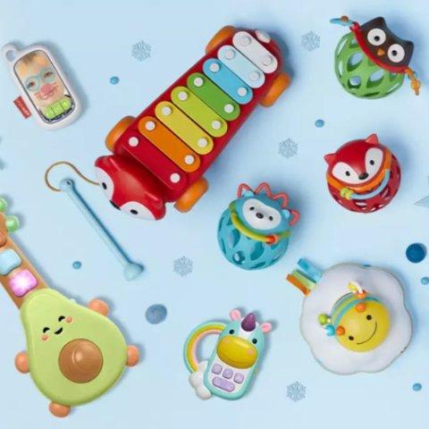 2件8折,3件7折,4件6折+包邮Skip Hop 全场婴幼儿品热卖,收抖音爆款玩具和扎克伯格睡眠钟