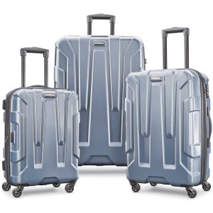 $257.17(原价$547) 一个箱子不到$90断货预警:Samsonite Centric 全PC超轻 拉杆行李箱3件套
