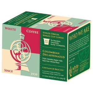 White Coffee 10-pk. Colombian Decaffeinated K-Cups