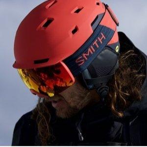 低至8折+额外9折+包邮Focus Camera官网 Smith Optics滑雪护目镜、头盔促销