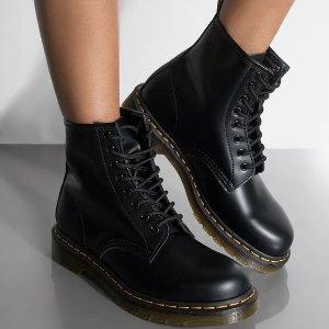 全场9折+包邮包退Dr. Martens 初秋穿搭超时髦 $144起收经典马丁靴 Get大长腿