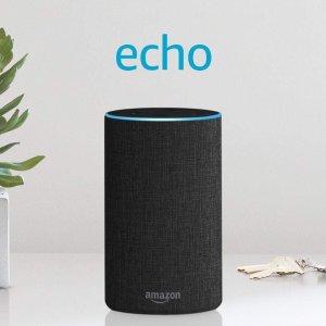 $99.99(原价$129.99)Echo 亚马逊第二代智能家居语音机器人 畅享科技生活