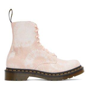 Dr. Martens1460 粉色马丁靴
