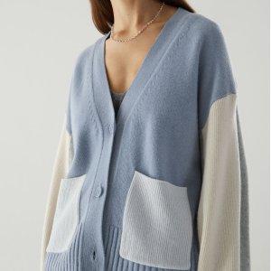 3折起+额外9折 £12就收奶油色毛衣上新:COS 开衫、毛衣专场大促 网红糖果色加入折扣