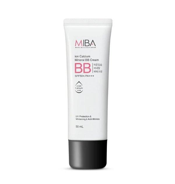 MIBA 清透水润矿物bb霜