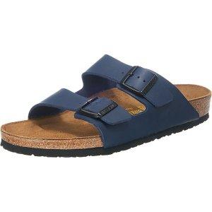 BirkenstockArizona 两扣拖鞋 深蓝色