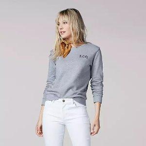 Women's Vintage Modern Lee Logo Sweatshirt | Lee